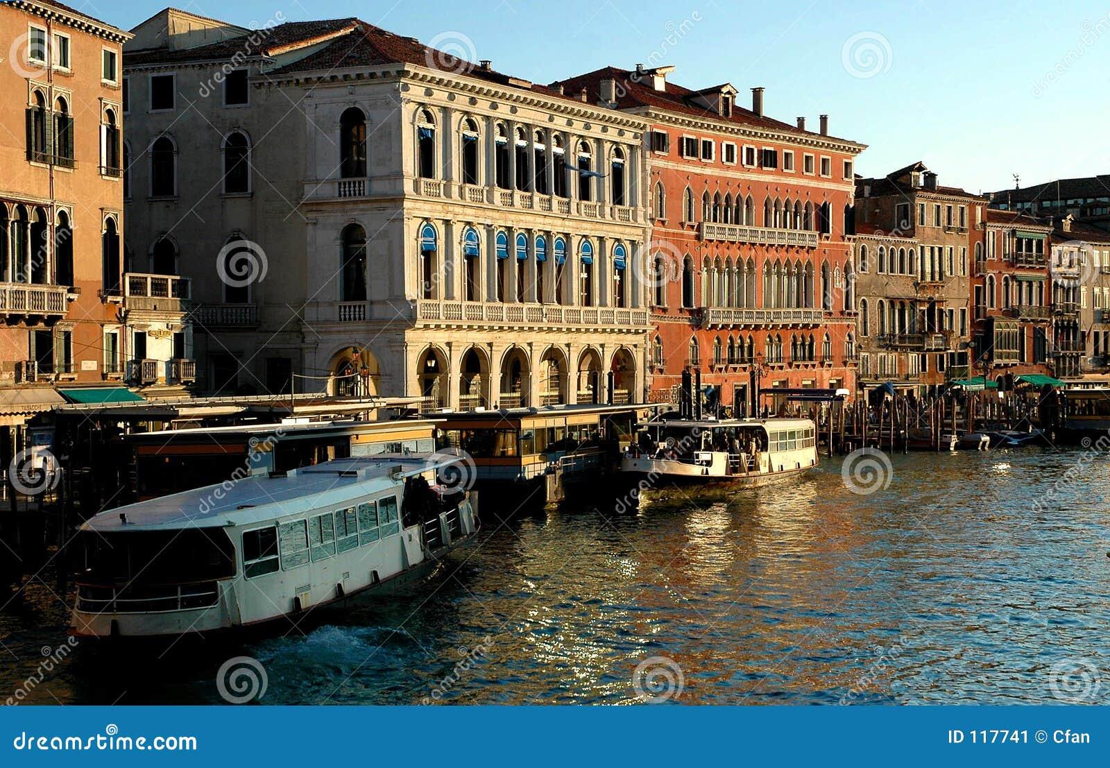 Along Rialto Bridge, Venice