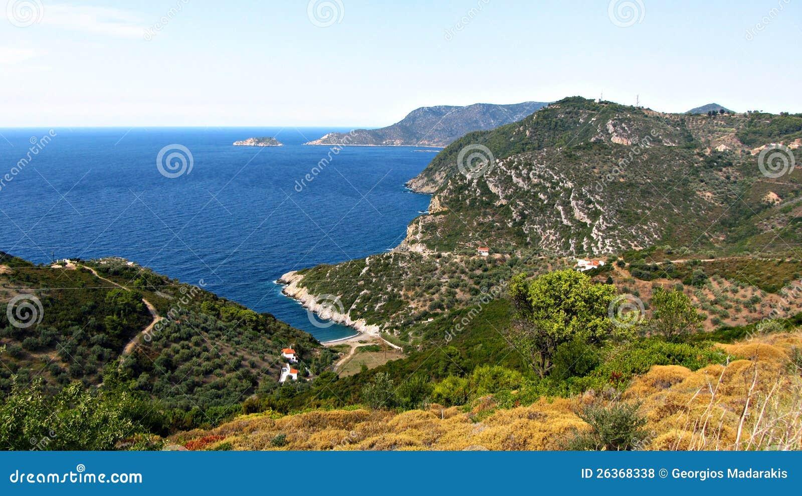 Alonisos Grekland