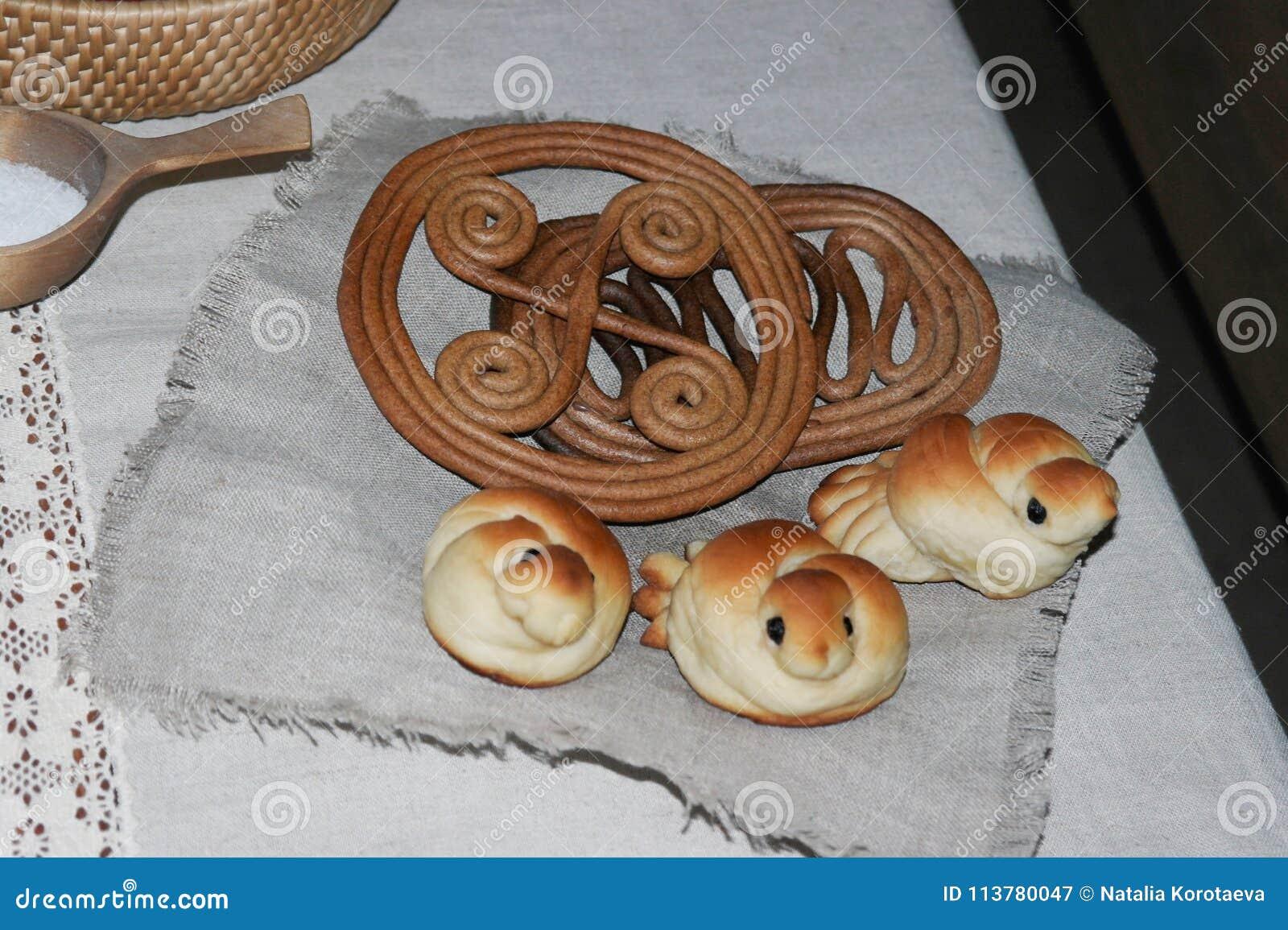 Alouettes de fantaisie de petits pains