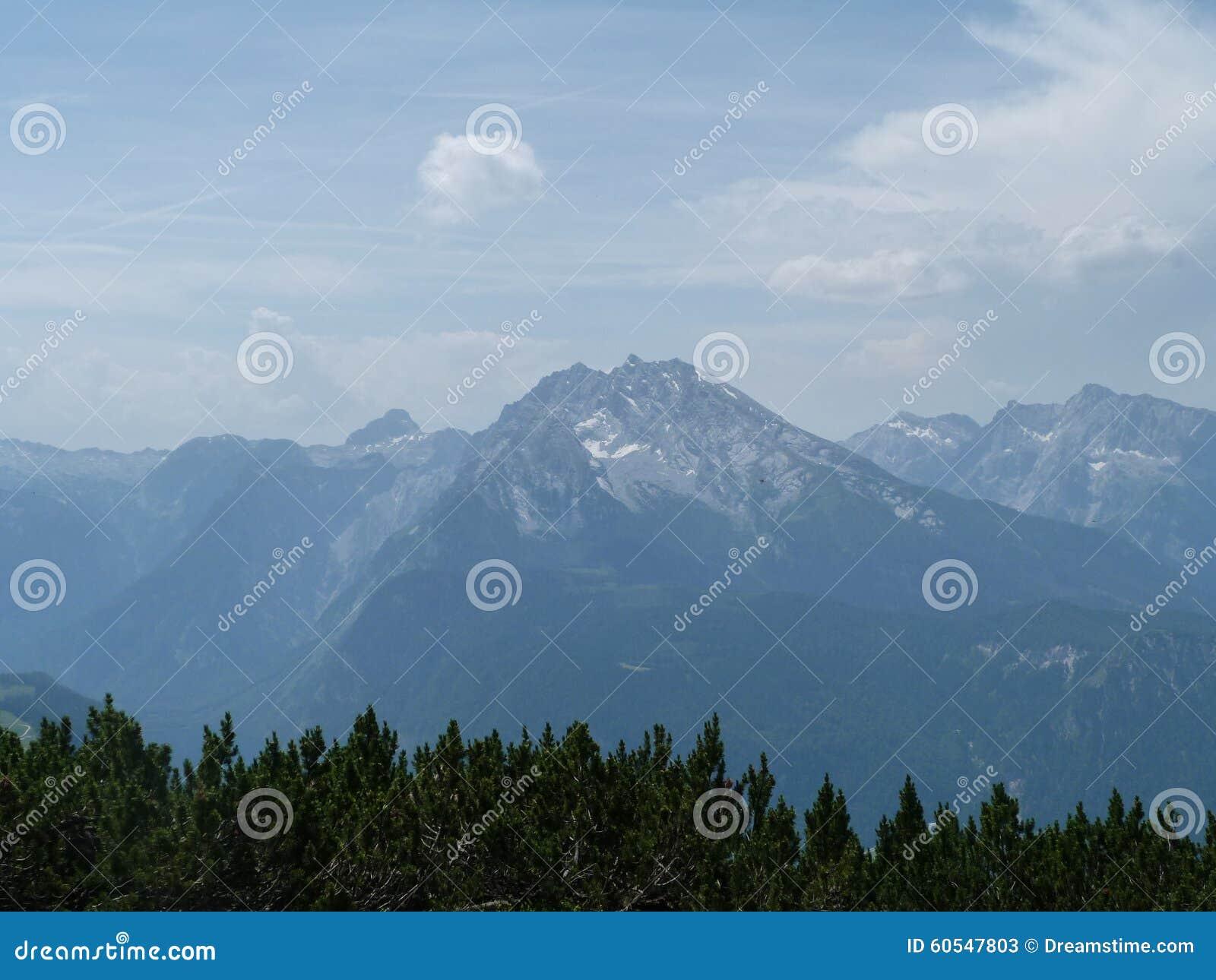 Alpen in Europa