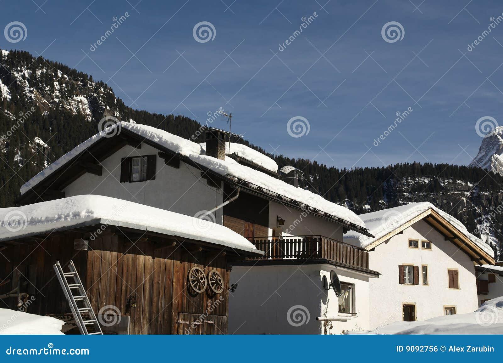 Alpen Häuser