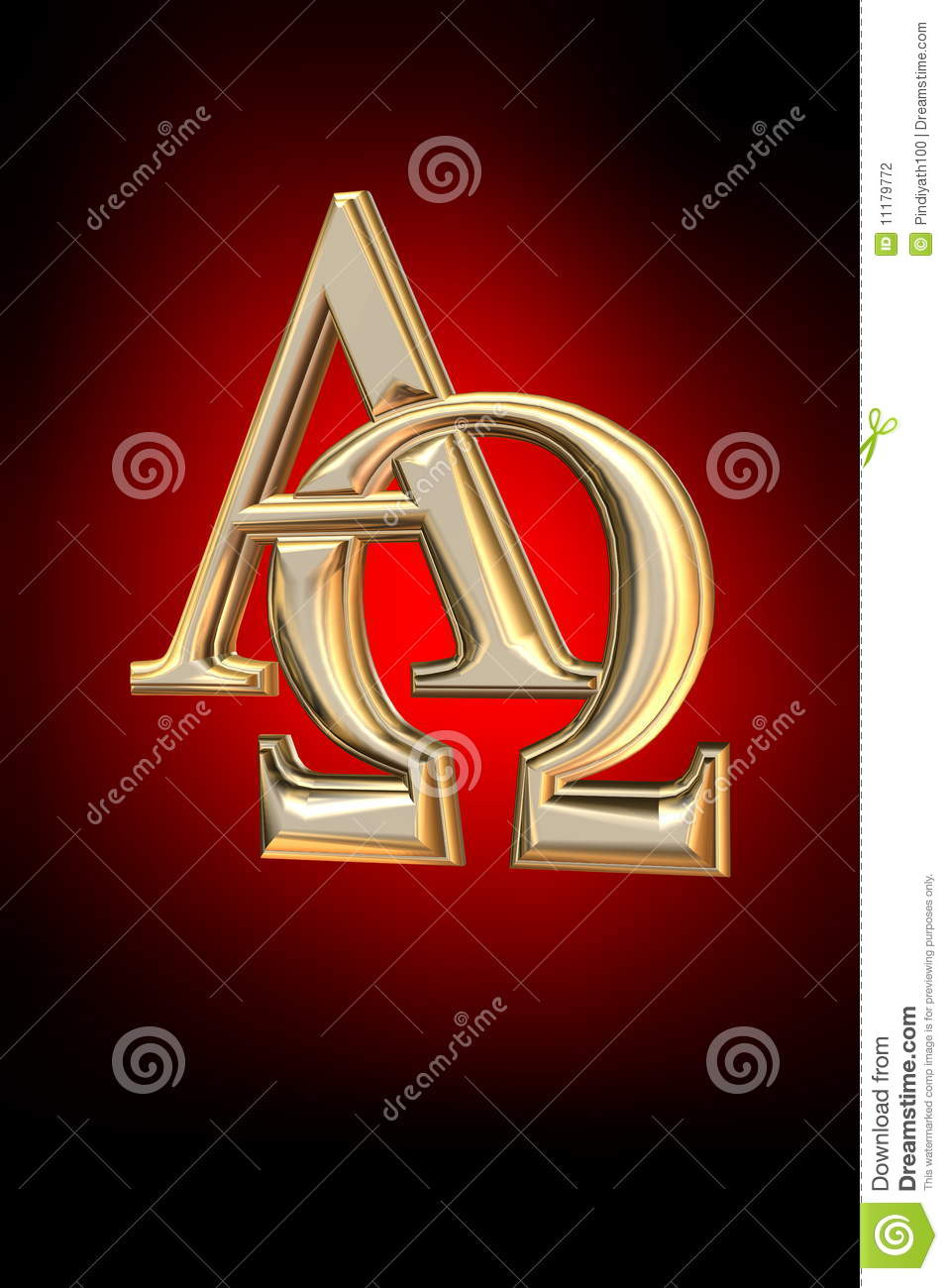Alpha and omega symbol stock illustration illustration of alpha and omega symbol buycottarizona