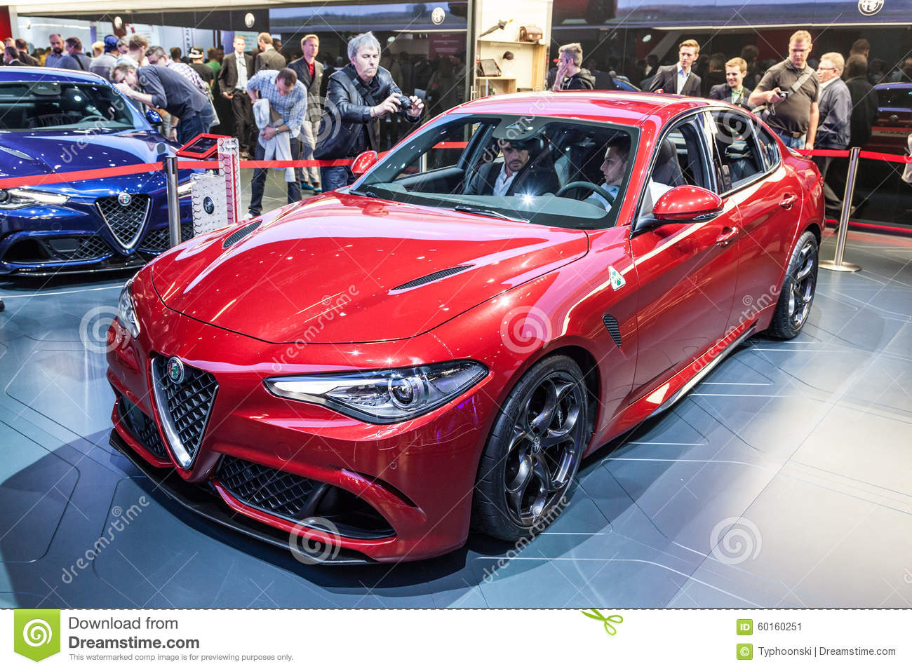 Romeo Giulia an der IAA-Internationalen Automobilausstellung 2015 ...