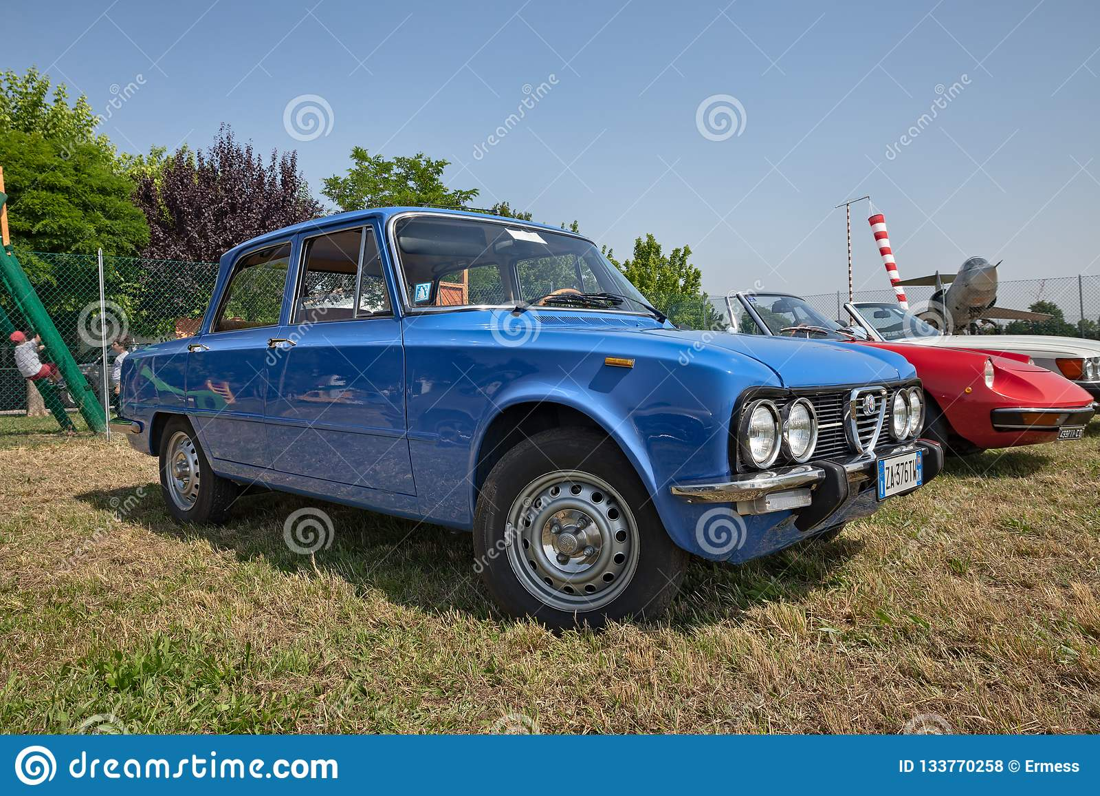 Alpha Romeo Giulia Nuova Super 1300 de cru