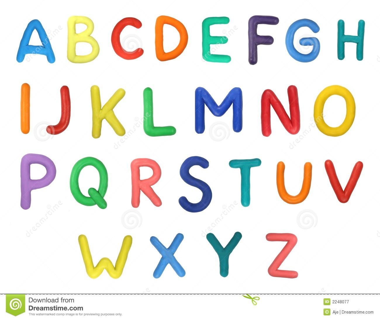 Alphabet Stock Image Image Of Simple Made Elements