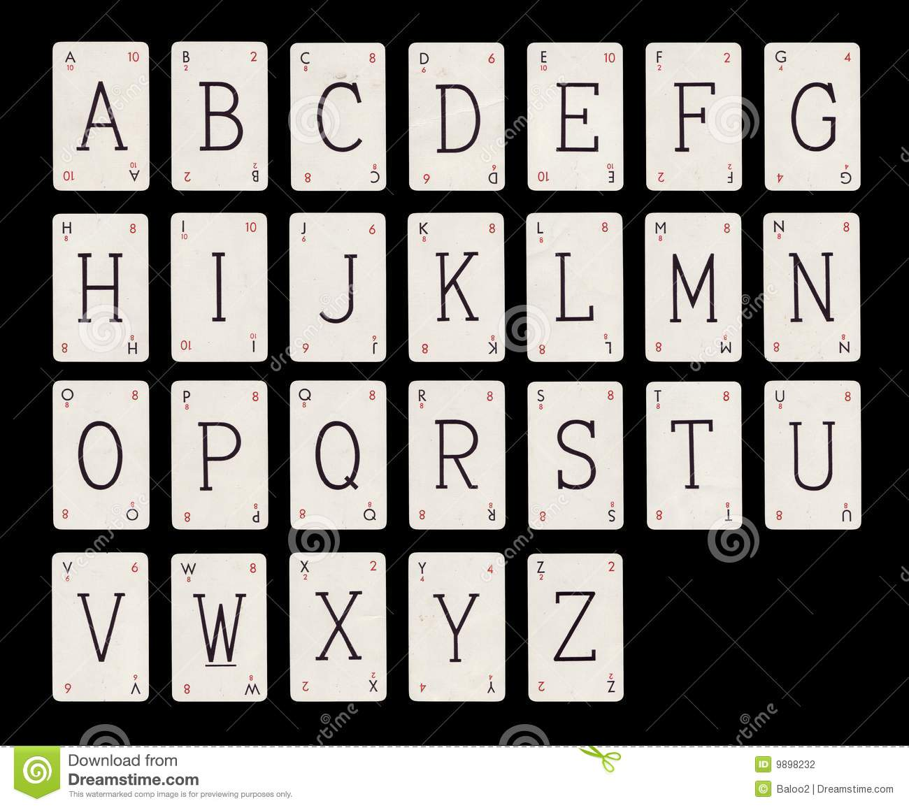 Alphabet Stock Photography Image 9898232