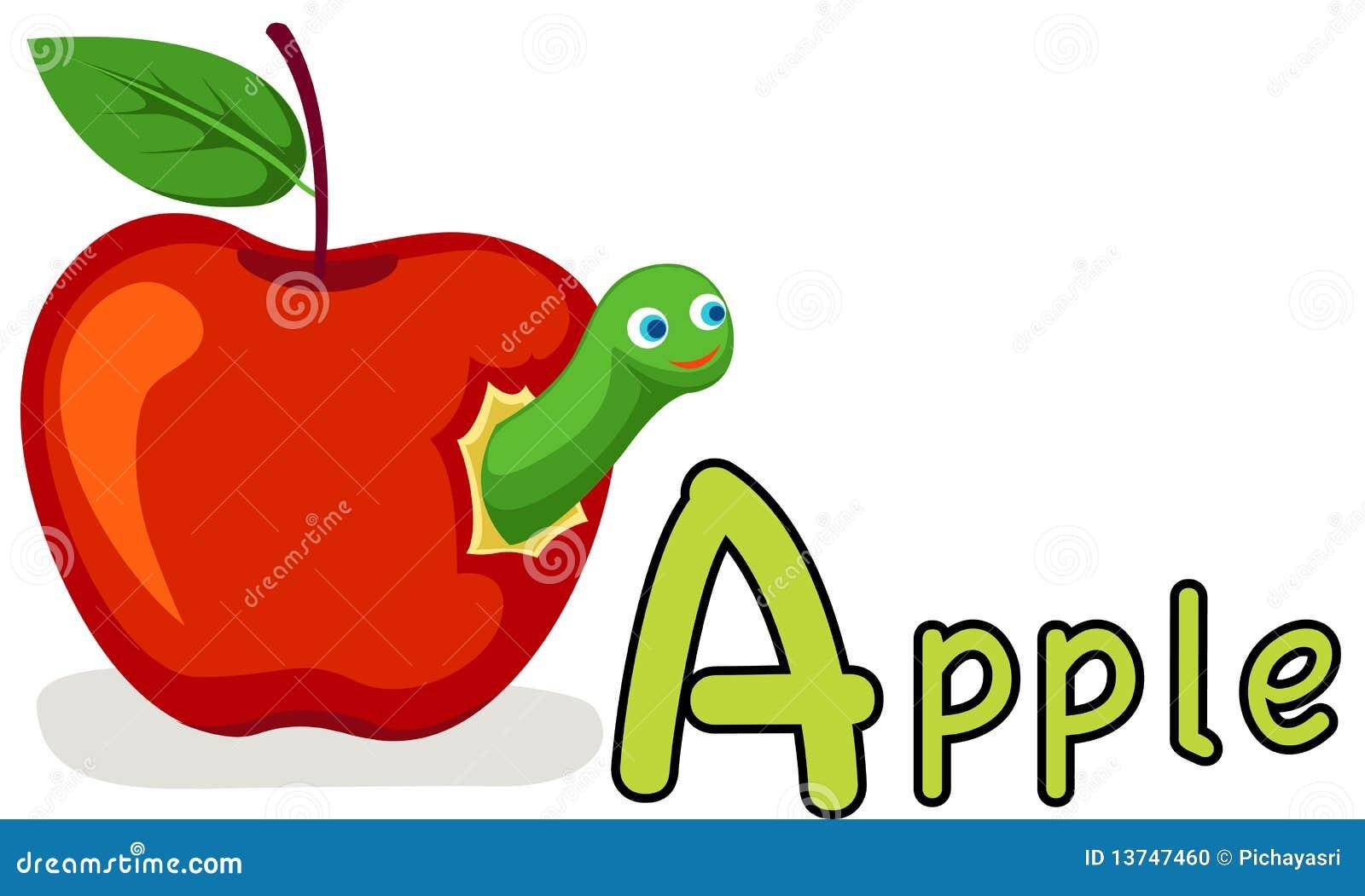 alphabet a for apple stock photo image 13747460 duck clip art images duck clip art for kids