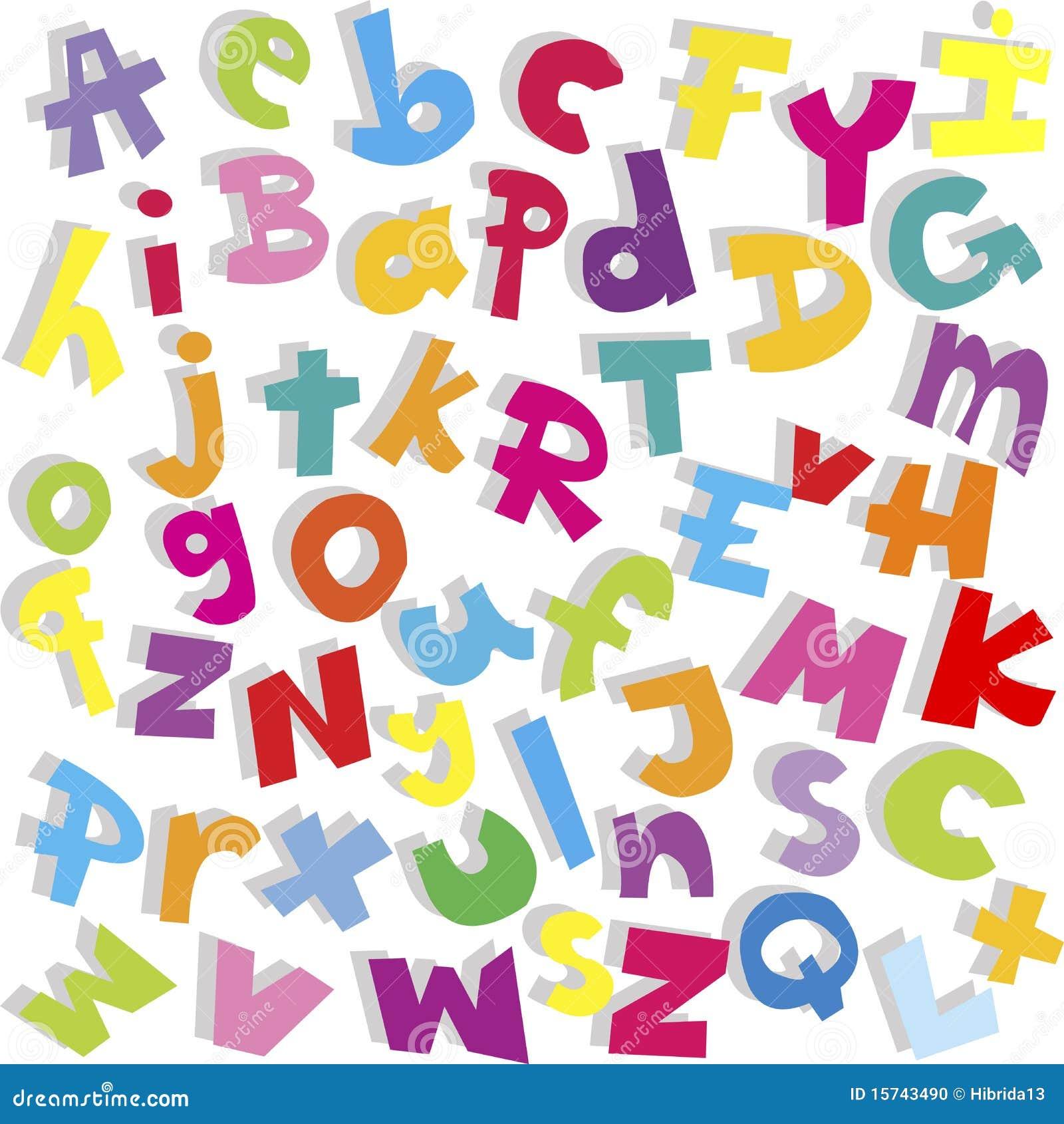 Alphabet Letters Using Nature