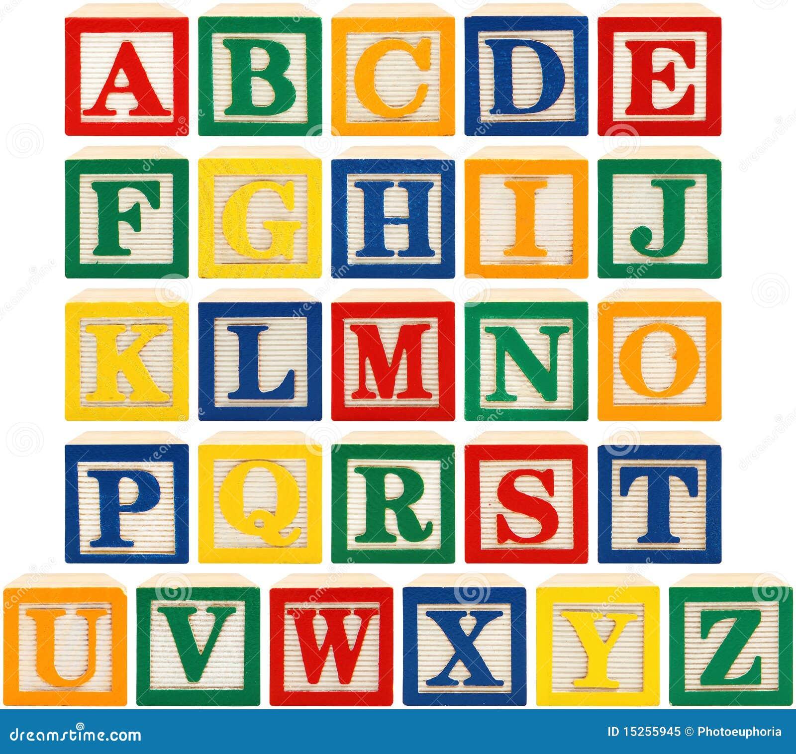 Alphabet Blocks Royalty Free Stock Photo - Image: 15255945