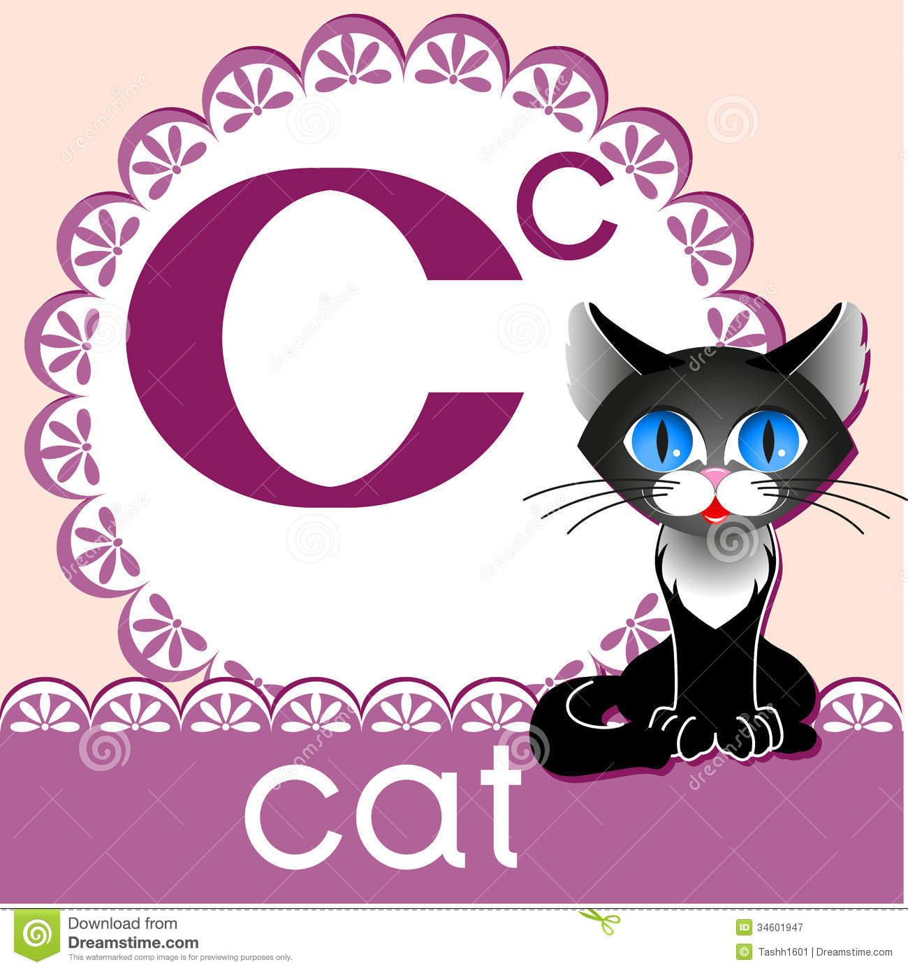 Alphabet C Royalty Free Stock Photography - Image: 34601947