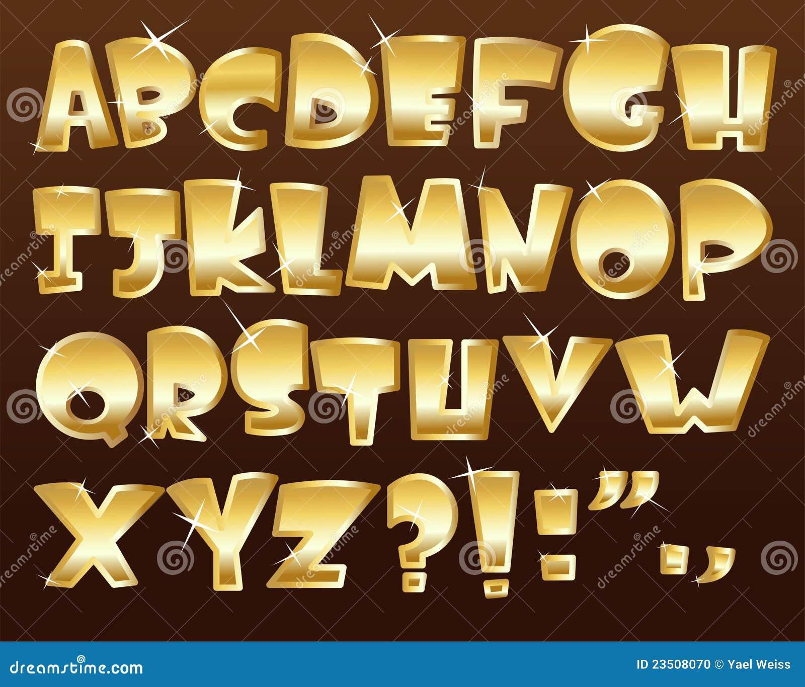 Alphabet d or