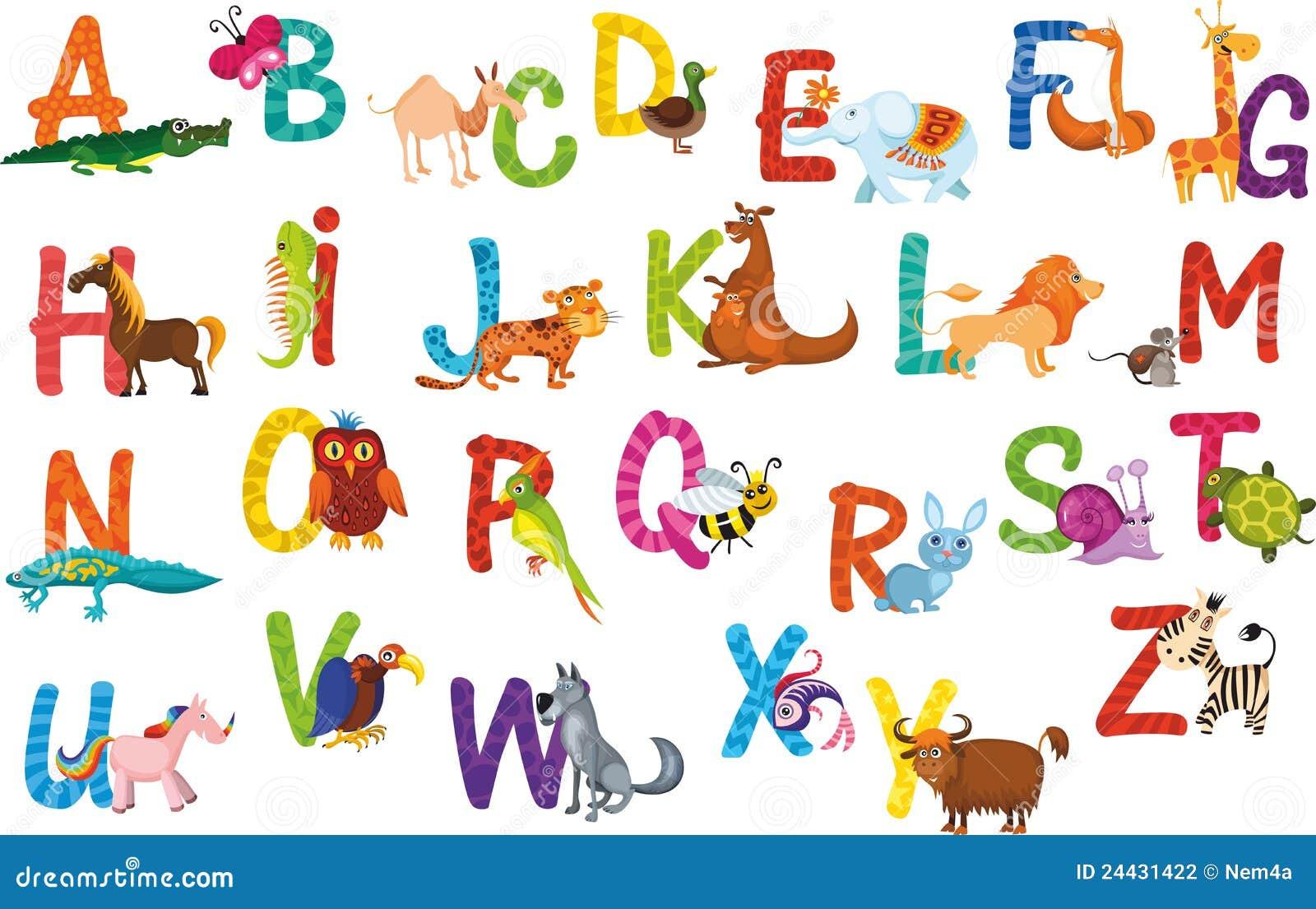 Alphabet d animaux