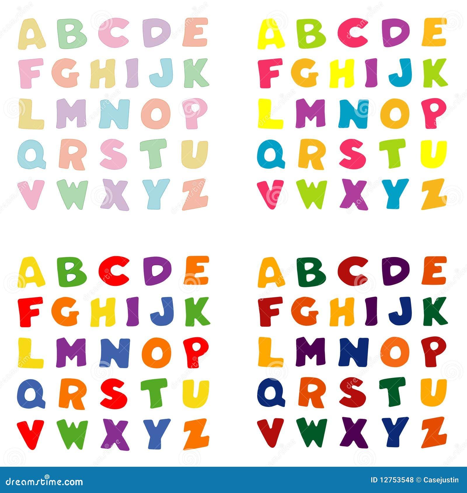 M Alphabet Wallpaper Alphabet Dans Des Quat...