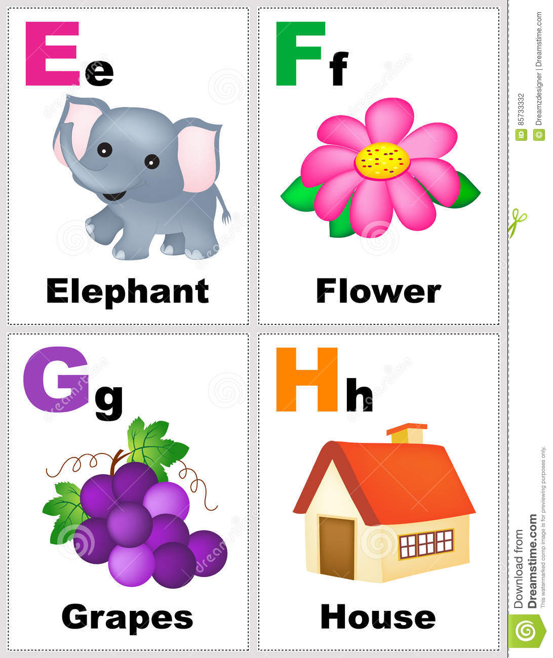 image about Printable Alphabet Flash Cards identified as Alphabet flashcards inventory example. Case in point of
