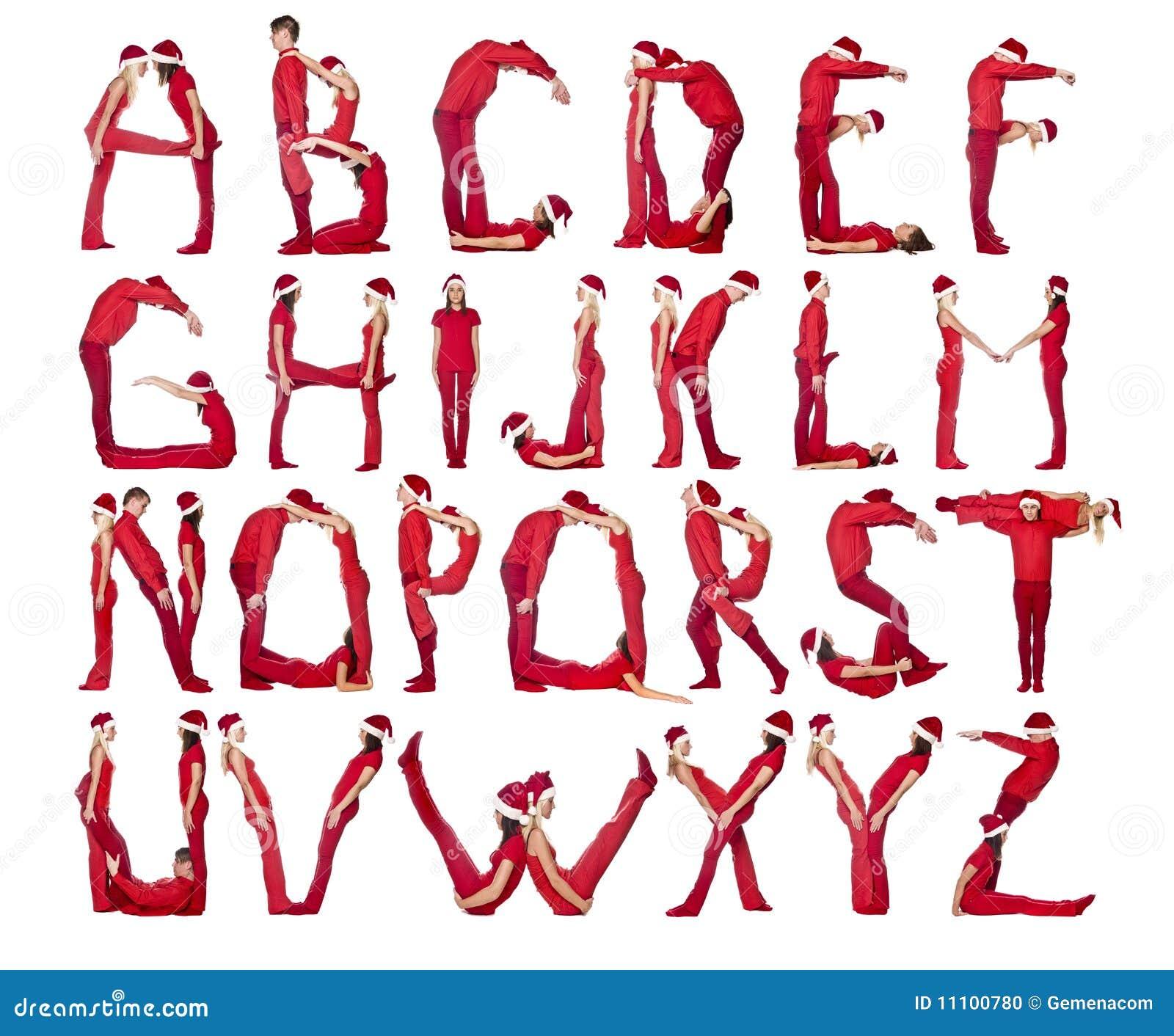 the alphabet formed by humans stock photo image 11100780 alphabet block clip art for christmas alphabet block clip art outline