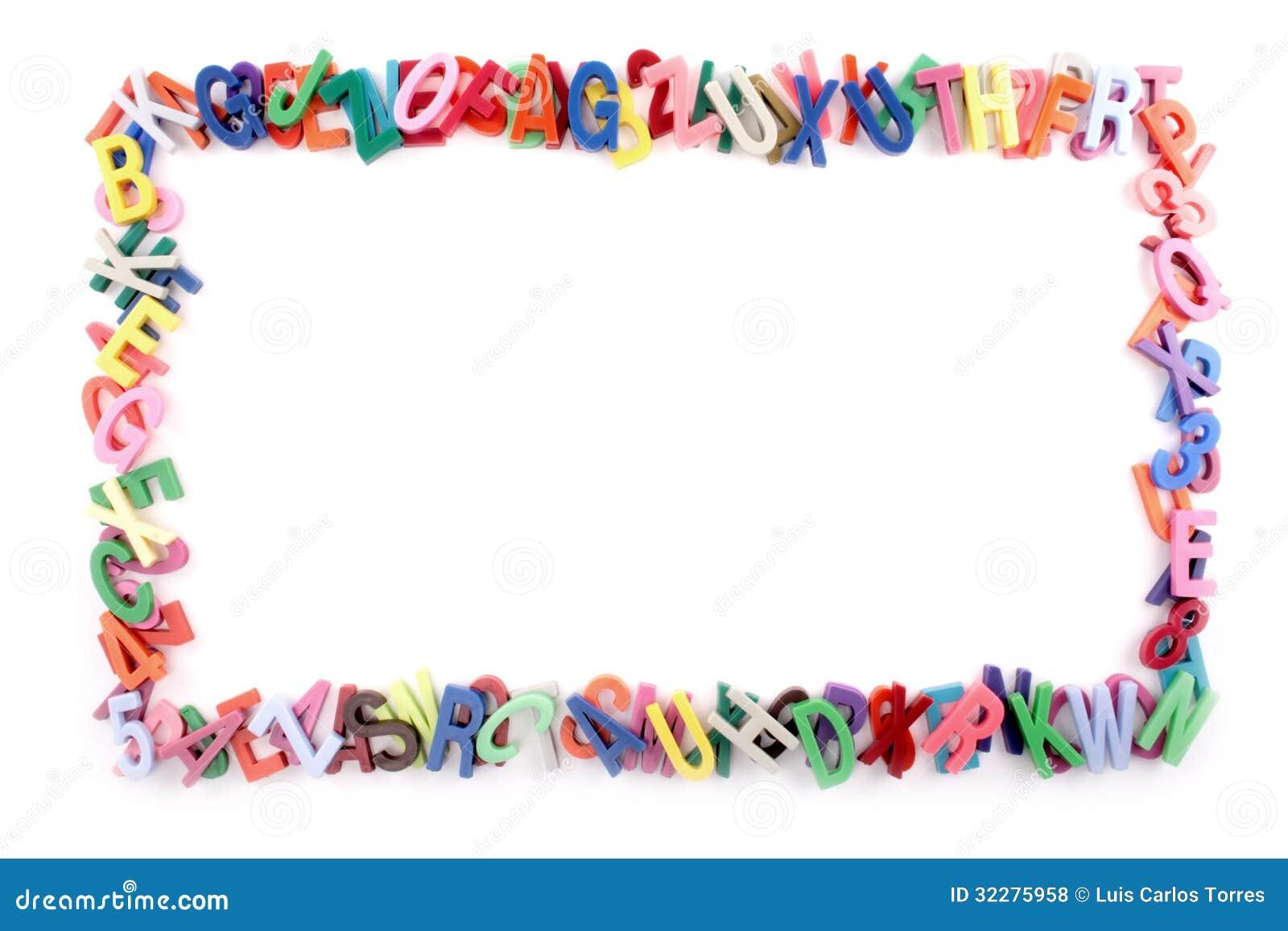 Alphabet Frame Royalty Free Stock Photos - Image: 32275958