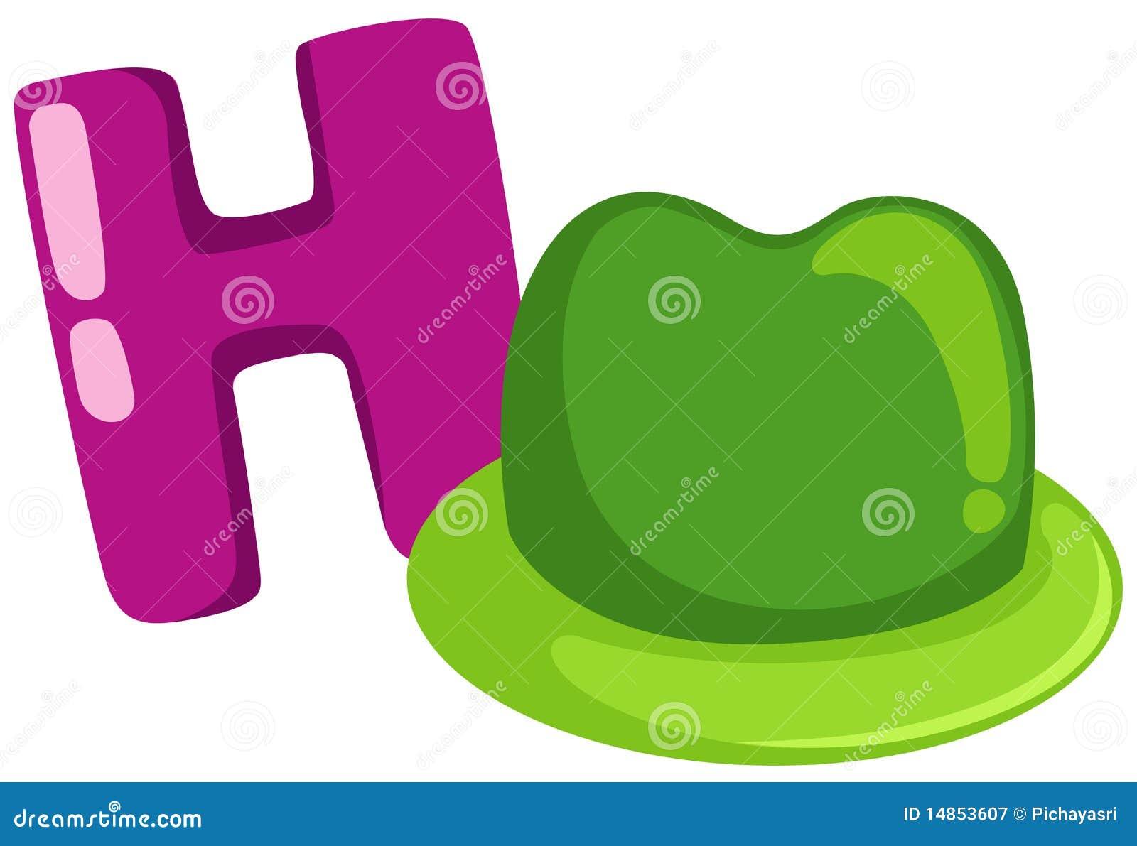 alphabet h for hat