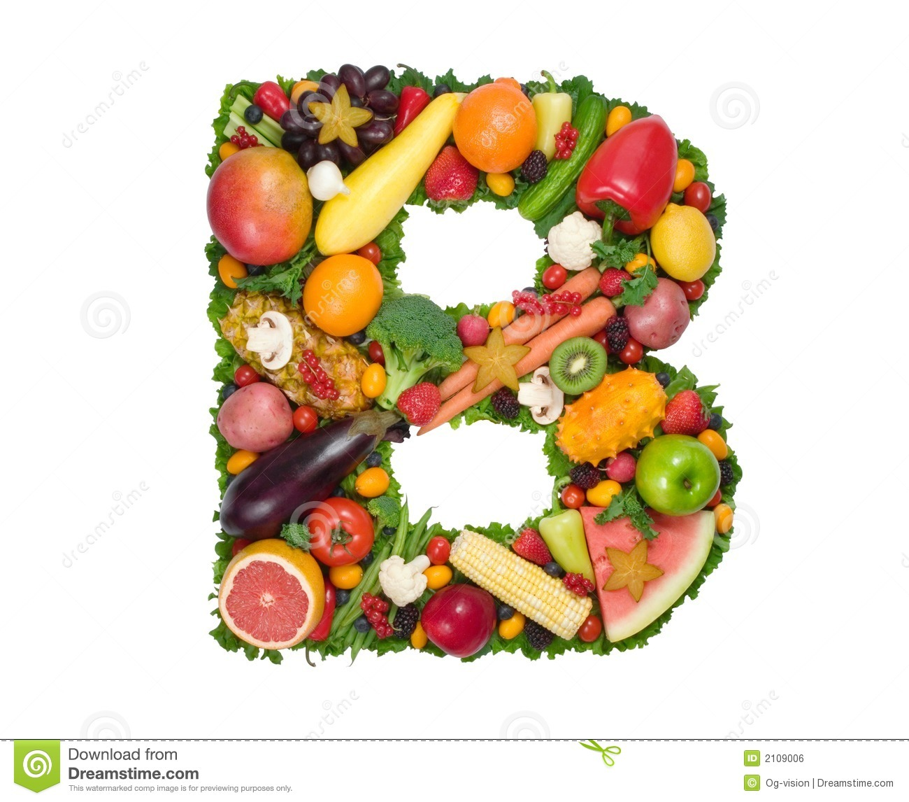 Vitamin Of The B Complex  Letters