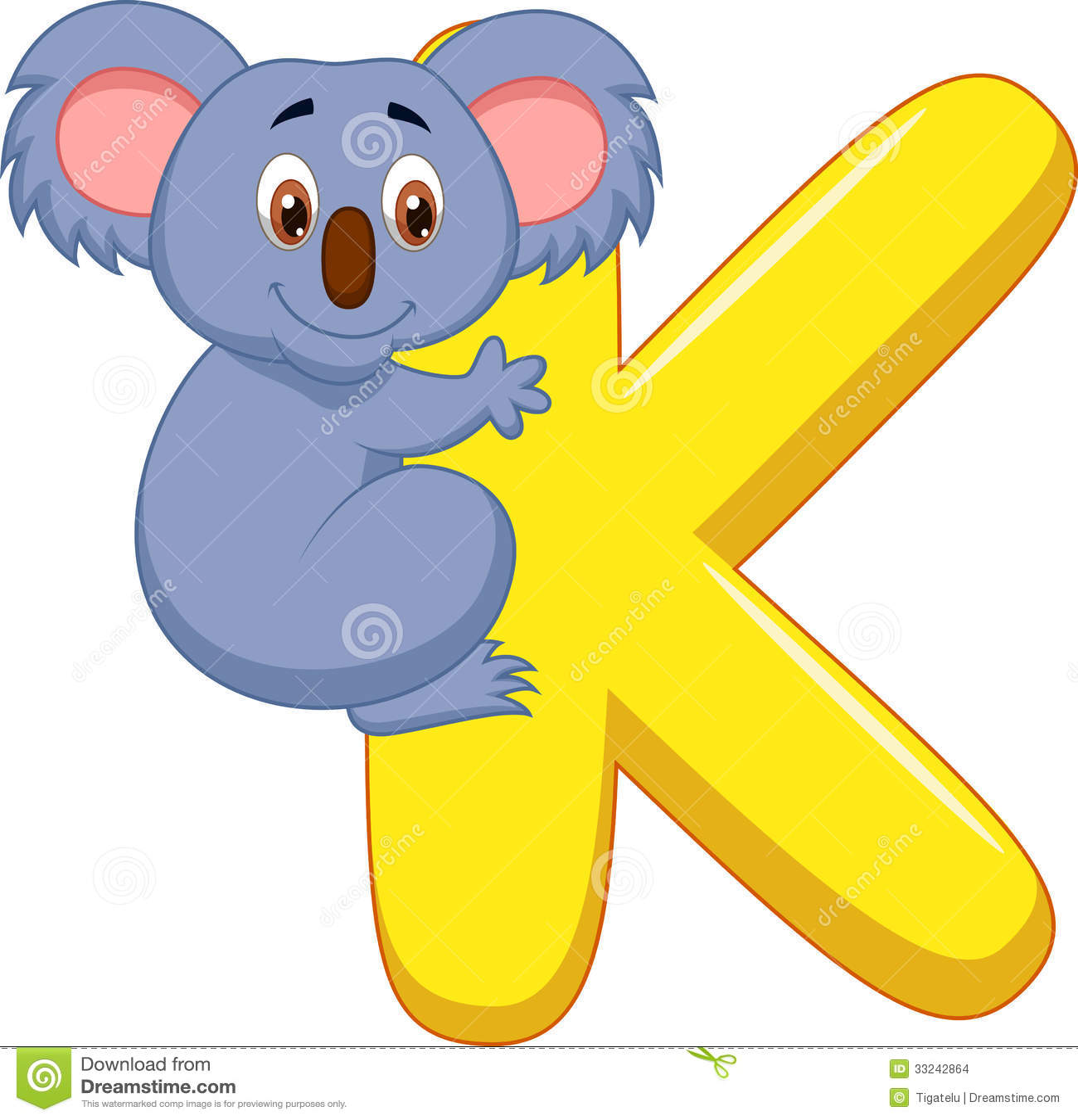 Alphabet k with koala cartoon stock vector illustration of book alphabet k with koala cartoon altavistaventures Image collections