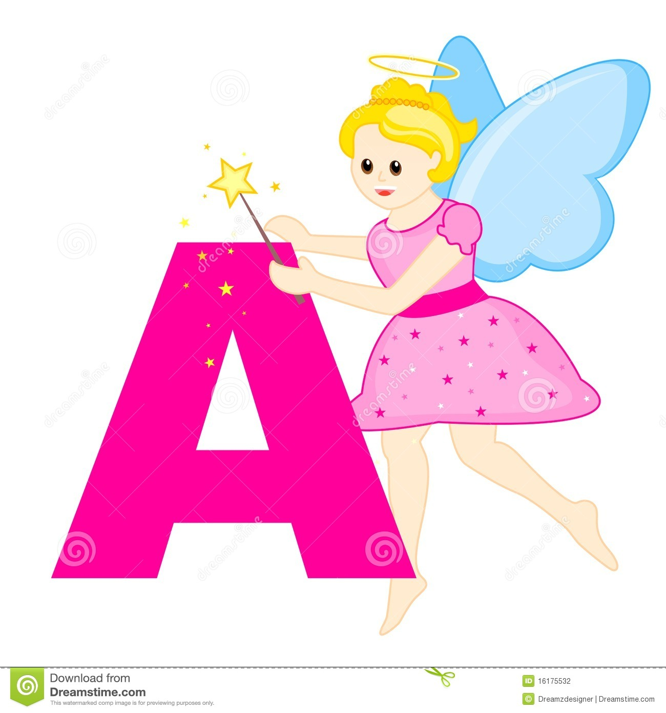 Alphabet Letter A Stock Photography