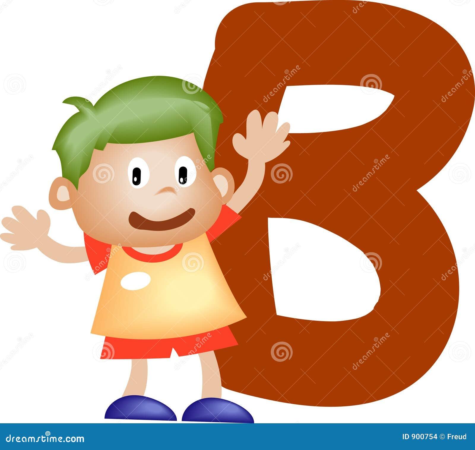 Alphabet letter (boy version), also checkout the girl version.