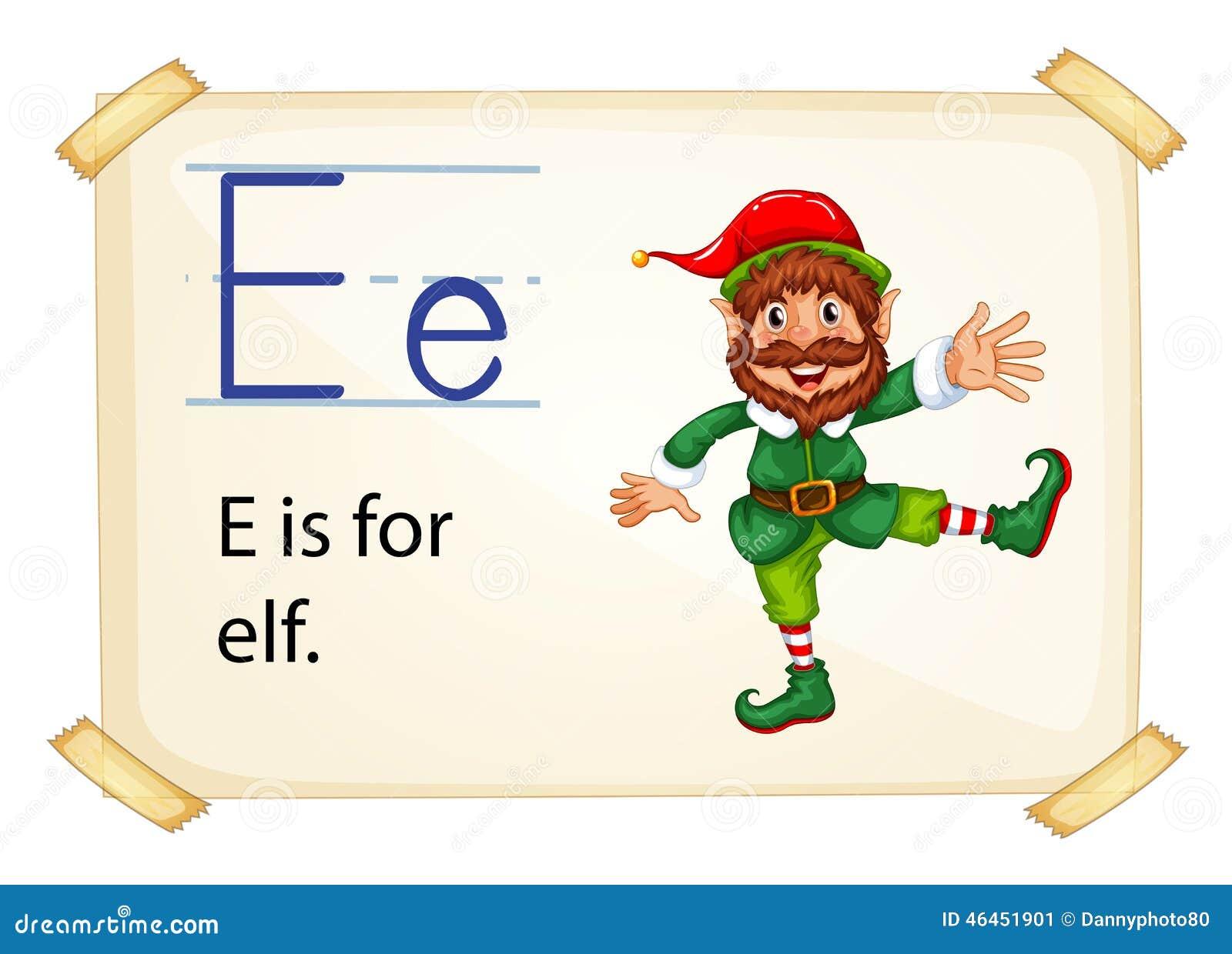 Alphabet Letter E Stock Vector Image 46451901