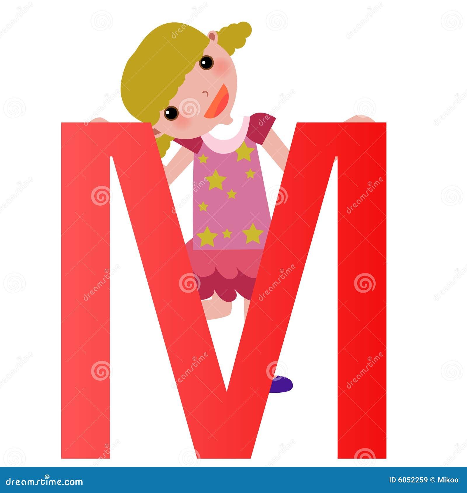 M&m Home Design Mooresville Nc Part - 35: Alphabet Letter M(girl)
