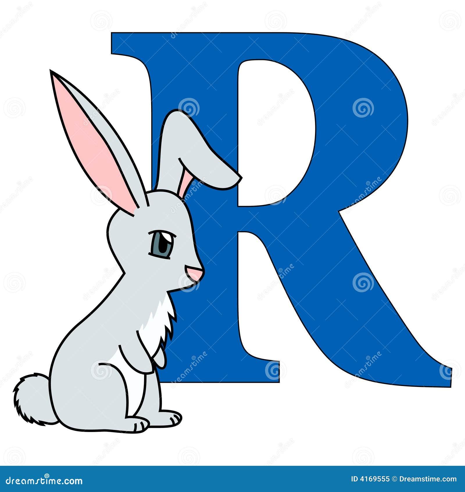 Alphabet Letter R Royalty Free Stock Photo