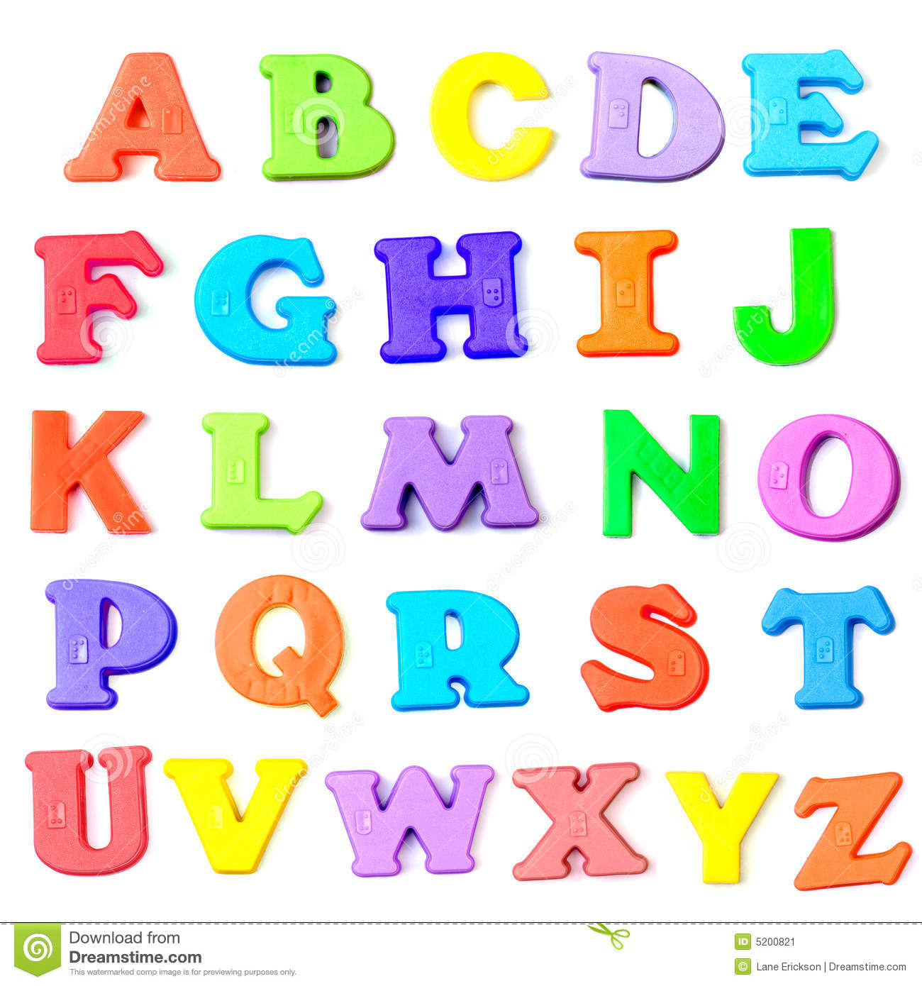 Letters Of The Alphabet Royalty Free Stock Photography - Image ...