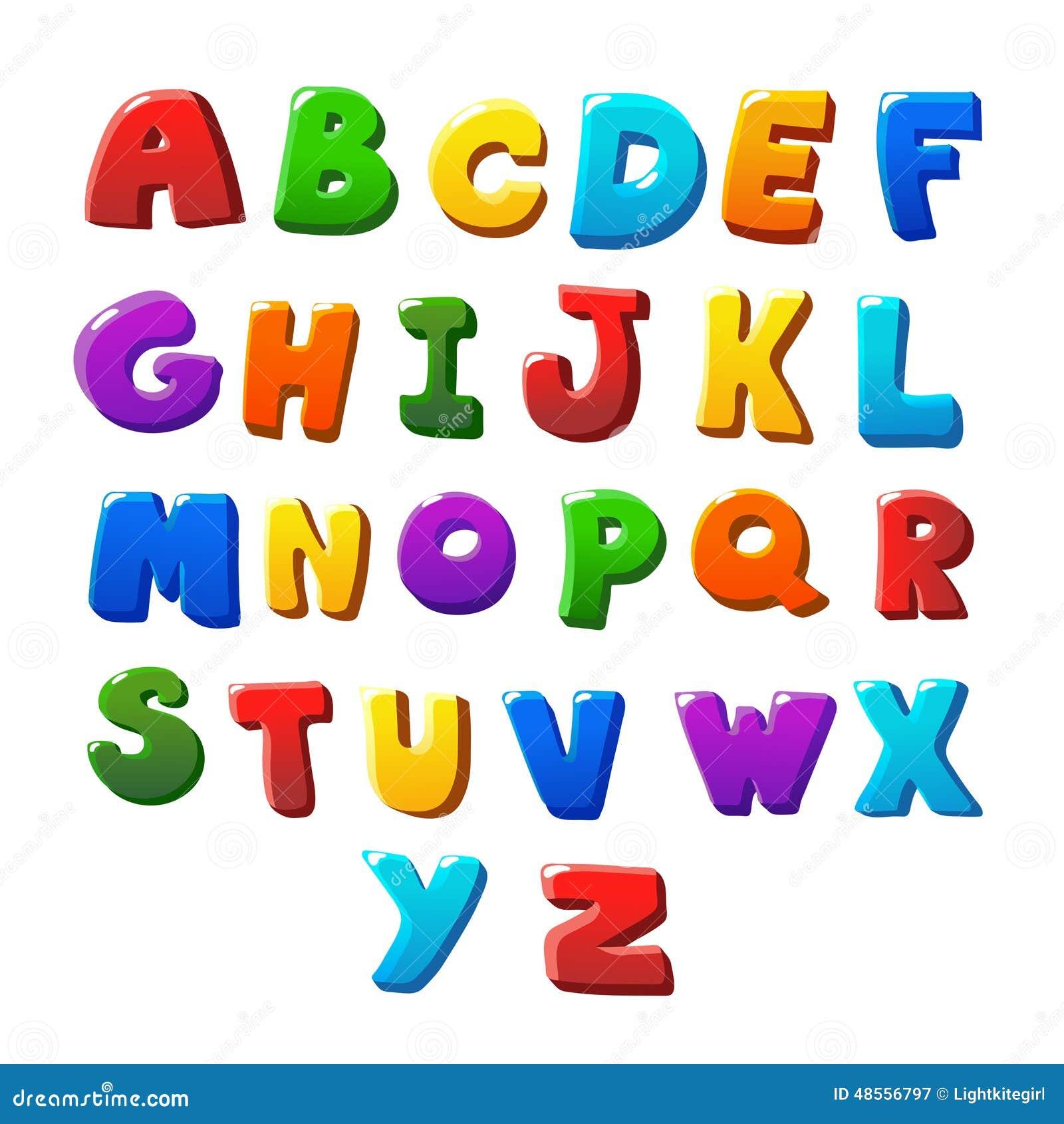 Rainbow Greek Letters