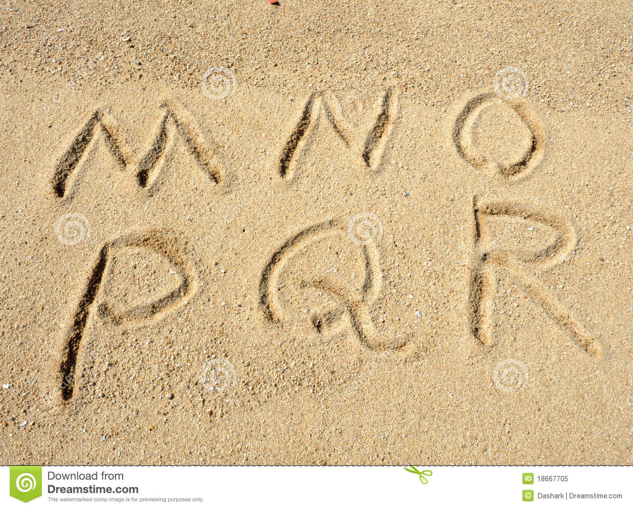 Alphabet letters in sand on beach royalty free stock photo for Alphabet photo letters