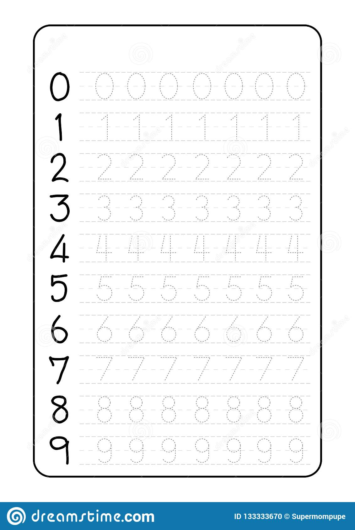 Alphabet Letters Tracing Worksheet With Alphabet Letters Number