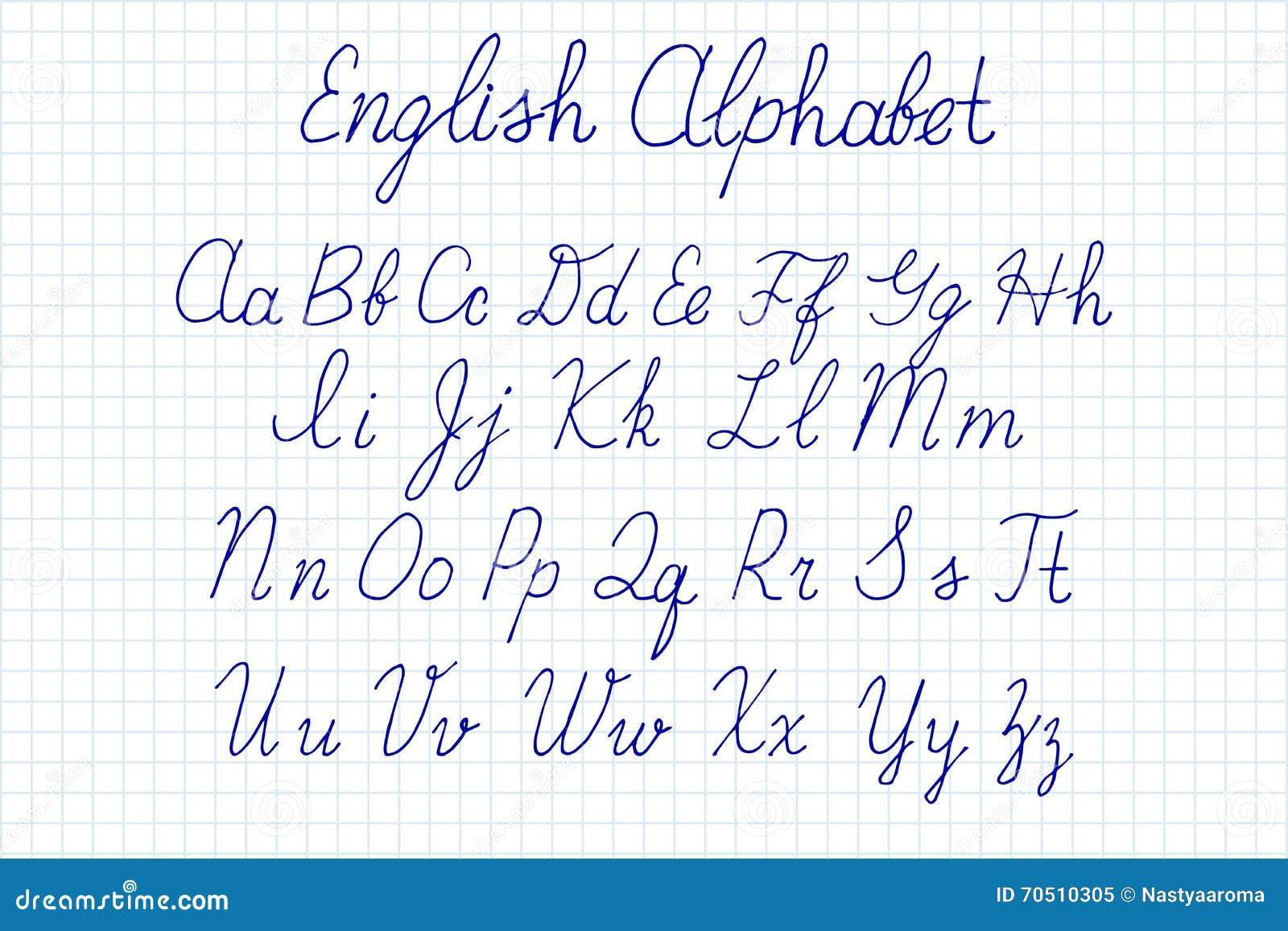 Download Alphabet Letters Uppercase Lowercase Stock Illustration