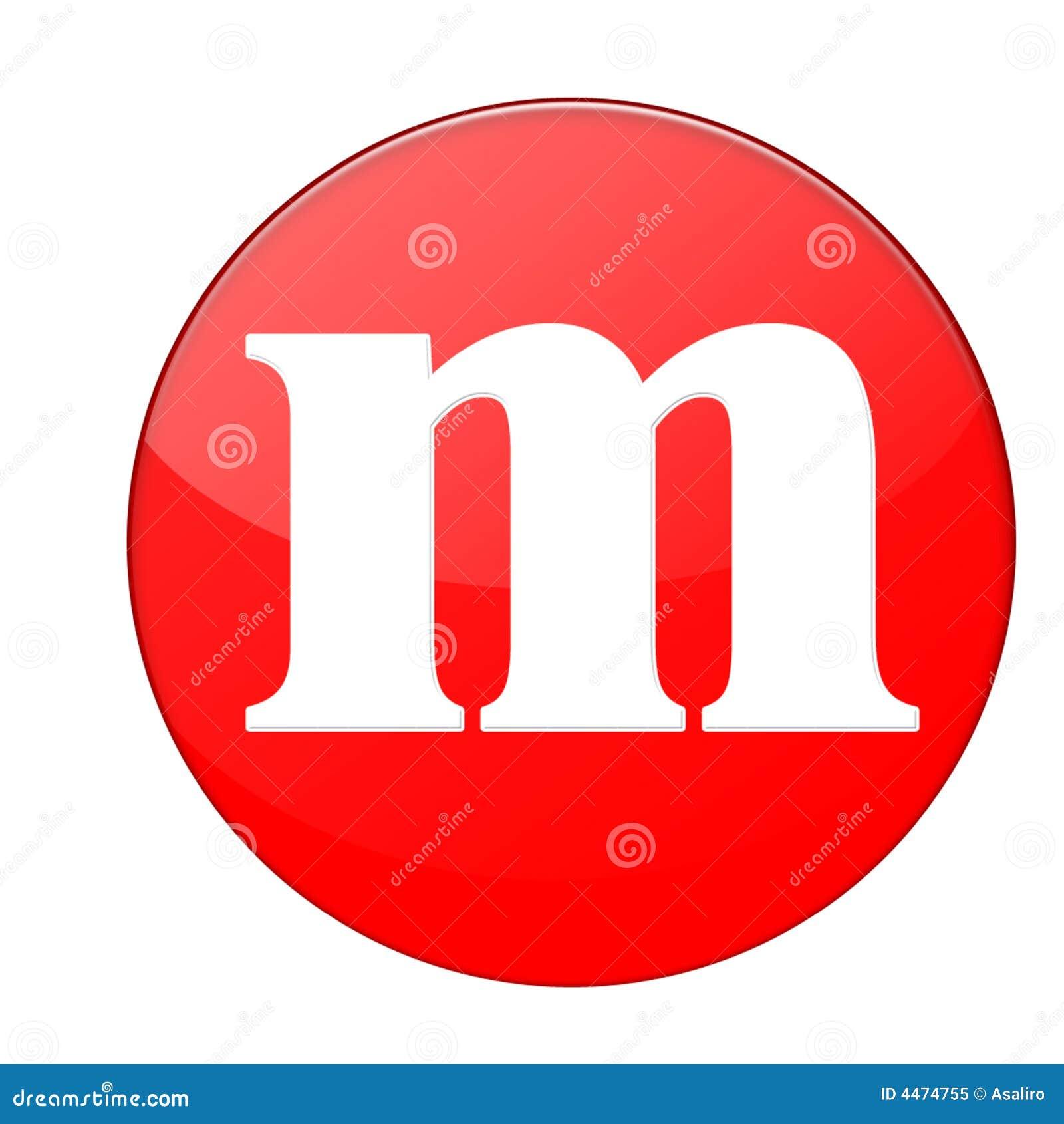 Alphabet M Royalty Free Stock Photo
