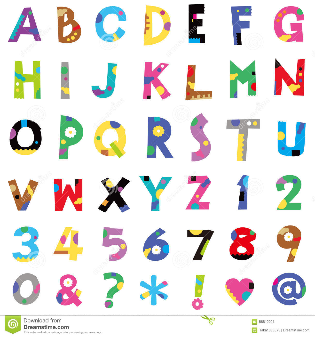 number of letters in alphabet alphabet stock vector image 56812021 23798 | alphabet many pleasant letters numbers 56812021