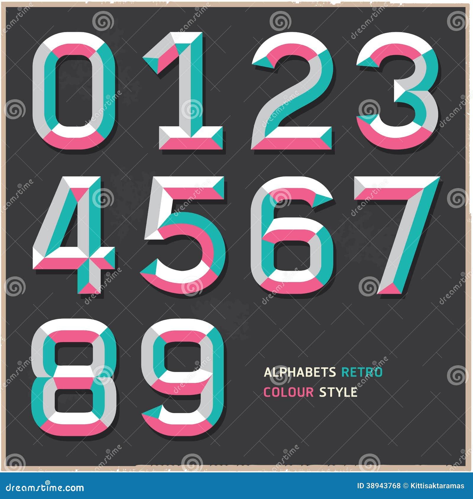 alphabet numeriert