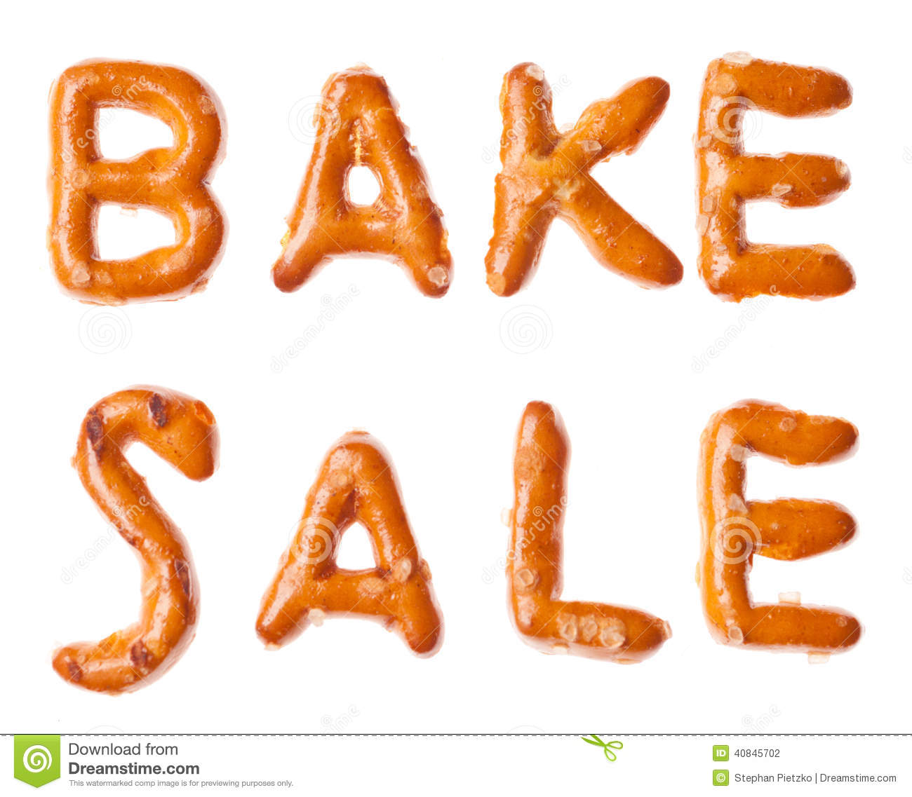 bake cookies stock photos image  alphabet pretzel written words bake isolated stock photography