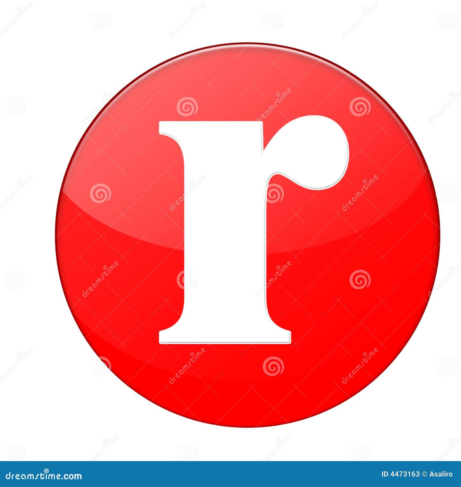 Alphabet R Stock Photos