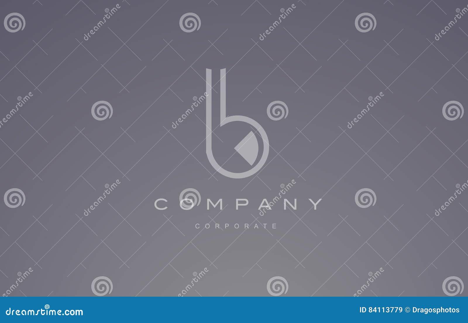 b logo blue  b letter icon design vector vector illustration
