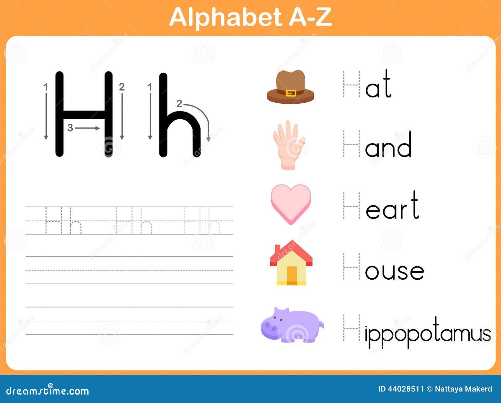 Alphabet-Spurarbeitsblatt vektor abbildung. Illustration von ...