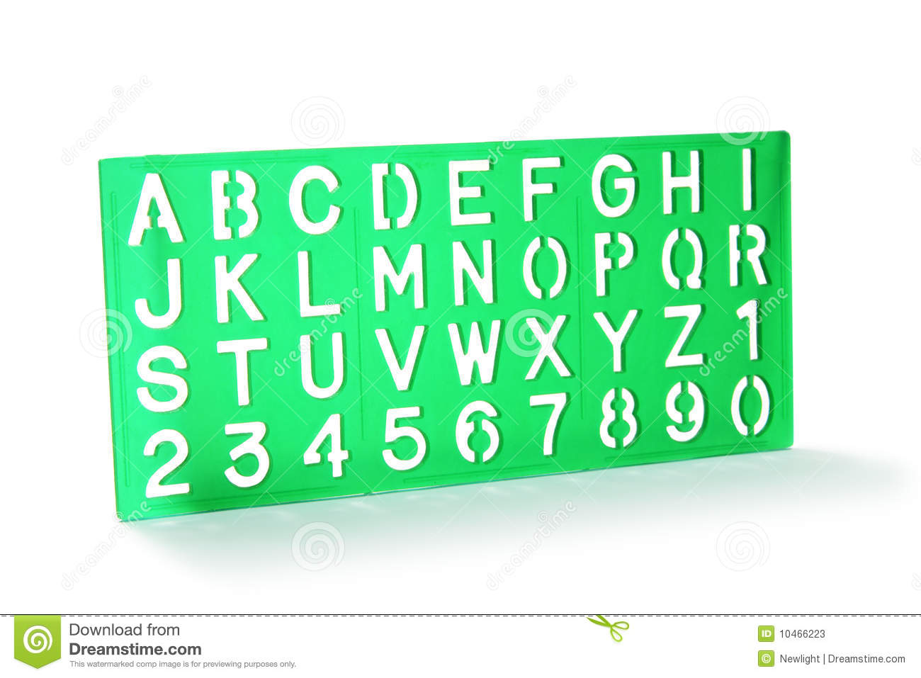 plastic letter stencils alphabet stencil stock image image of draw letters 24013