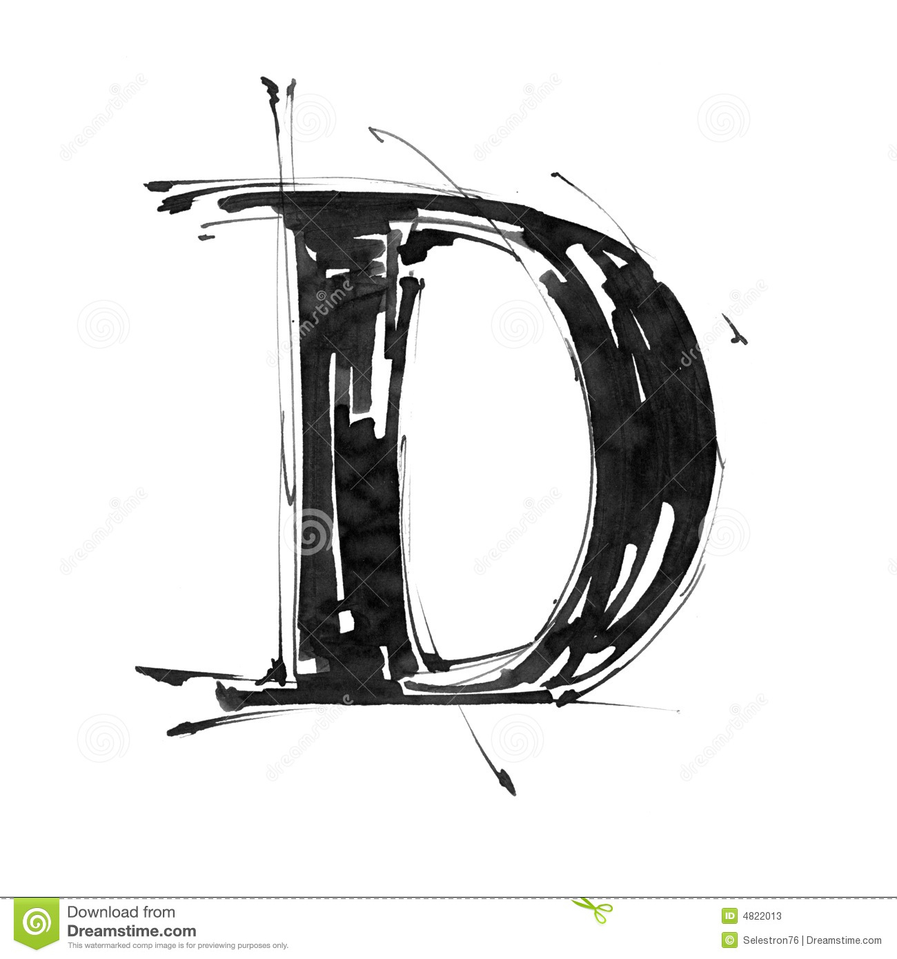Download Alphabet Symbol   Letter D Stock Illustration. Illustration Of  Backgrounds   4822013