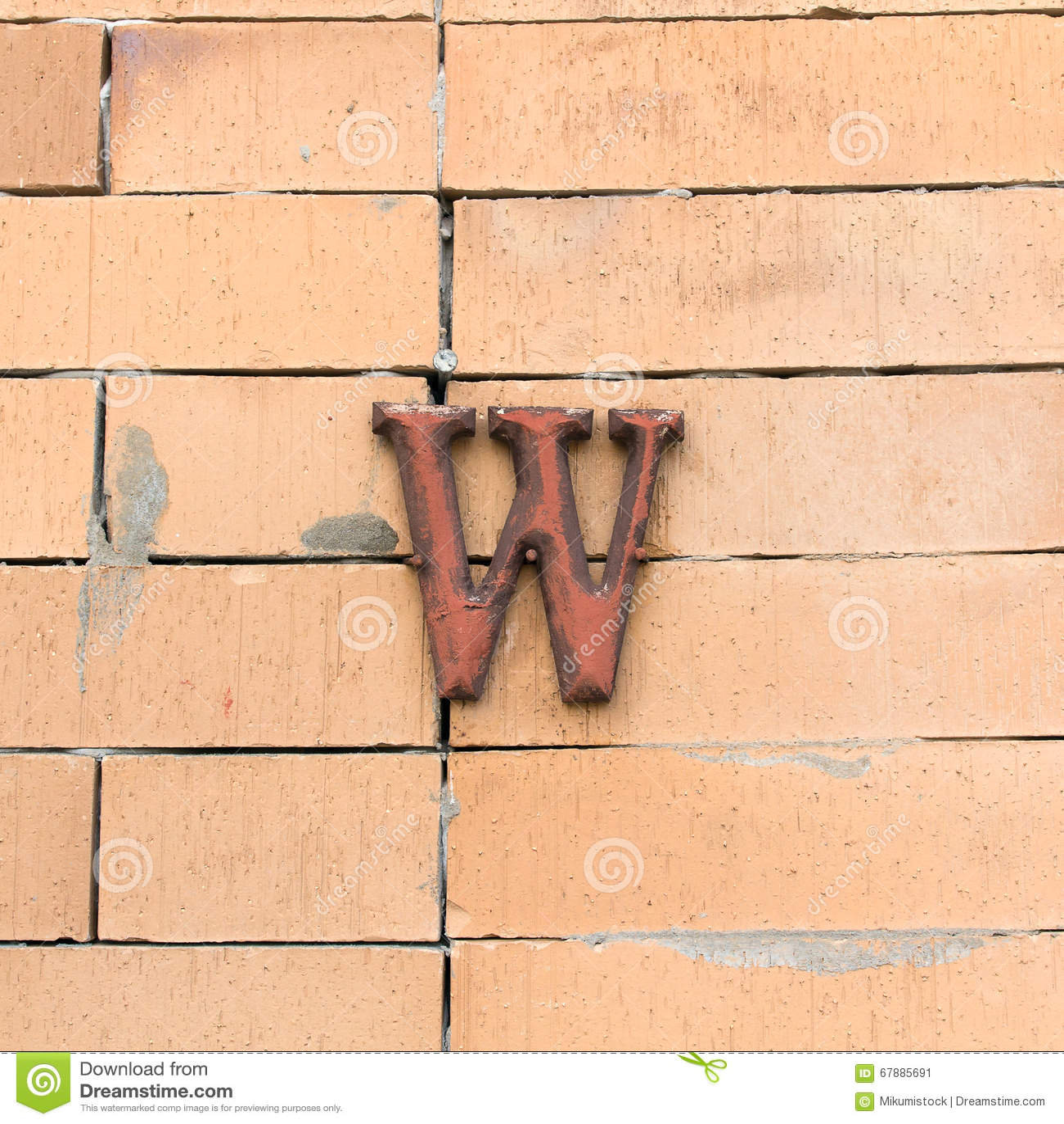 Alphabet texturisé en acier M