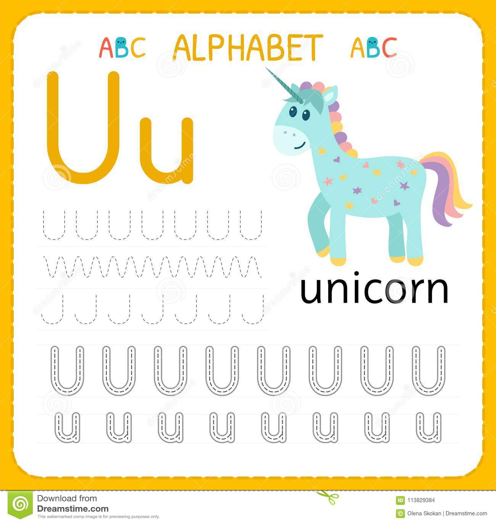 Alphabet Tracing Worksheet For Preschool And Kindergarten ...