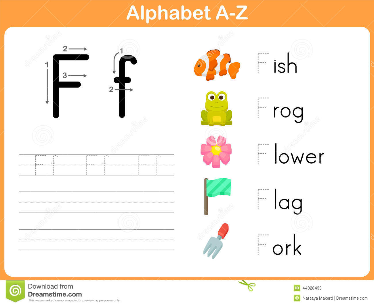Stock Illustration Alphabet Tracing Worksheet Writing Z Image44028433 on Printable Letter P Worksheets
