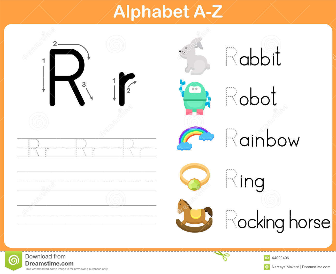 Stock Illustration Alphabet Tracing Worksheet Writing Z Image44029406 on 8 How To Write As In Cursive