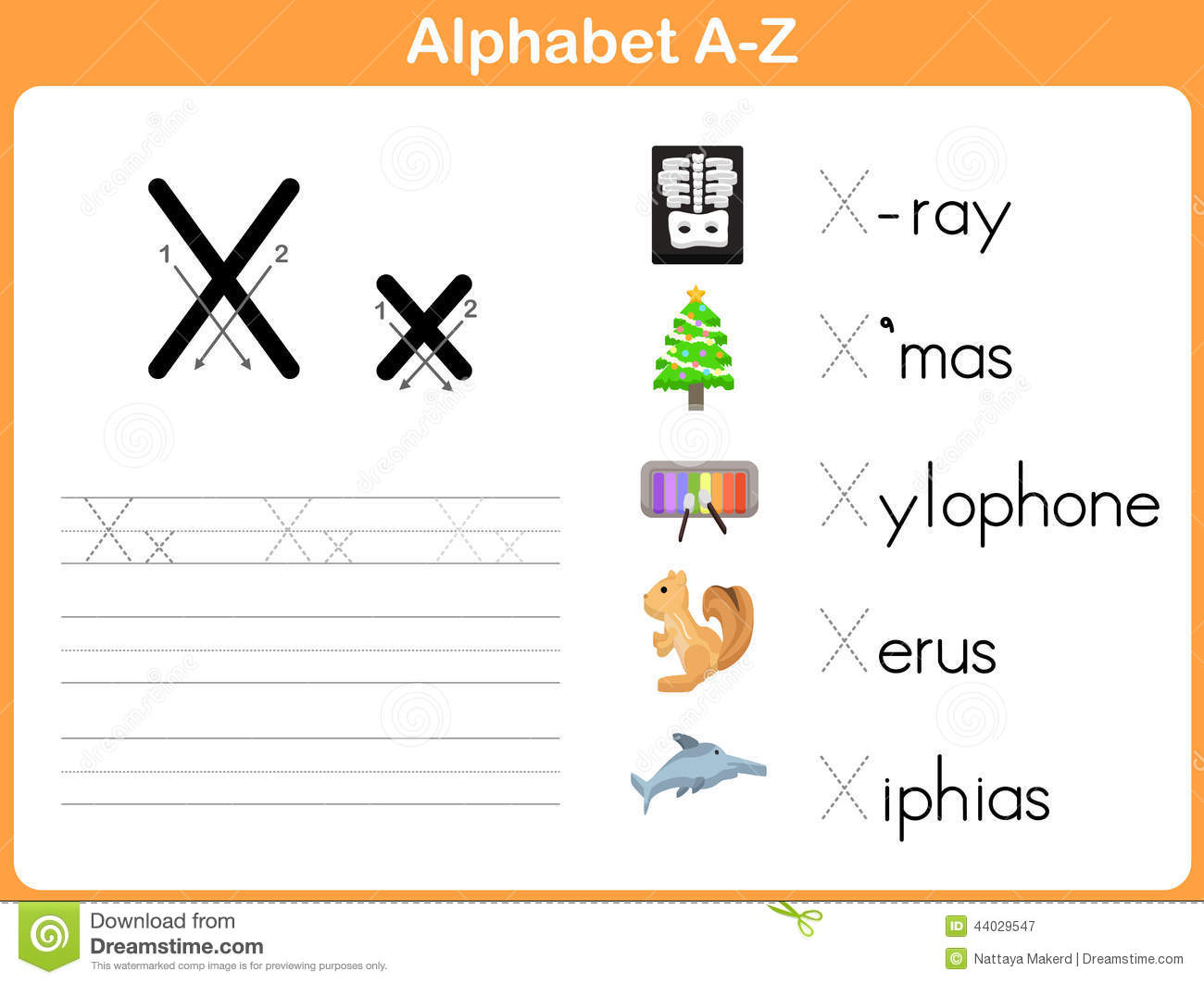 Alphabet Worksheets Az : Alphabet tracing worksheet stock vector image