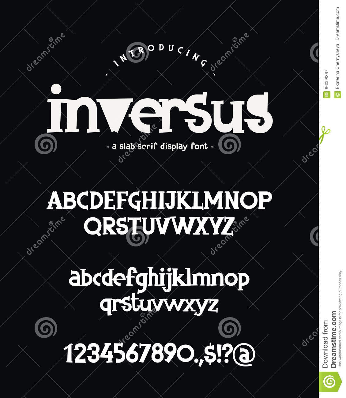 Alphabet Uppercase Lowercase Letters Numbers And Symbols Stock