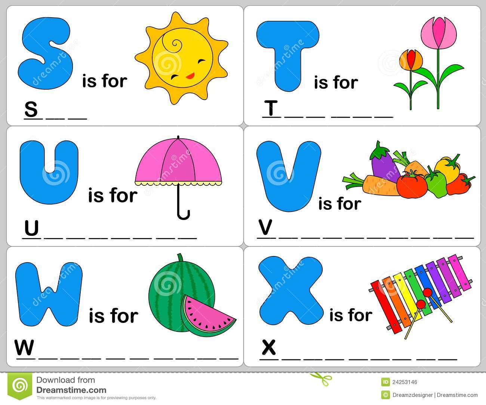Alphabet Word Stock Vector. Illustration Of Fonts, Font