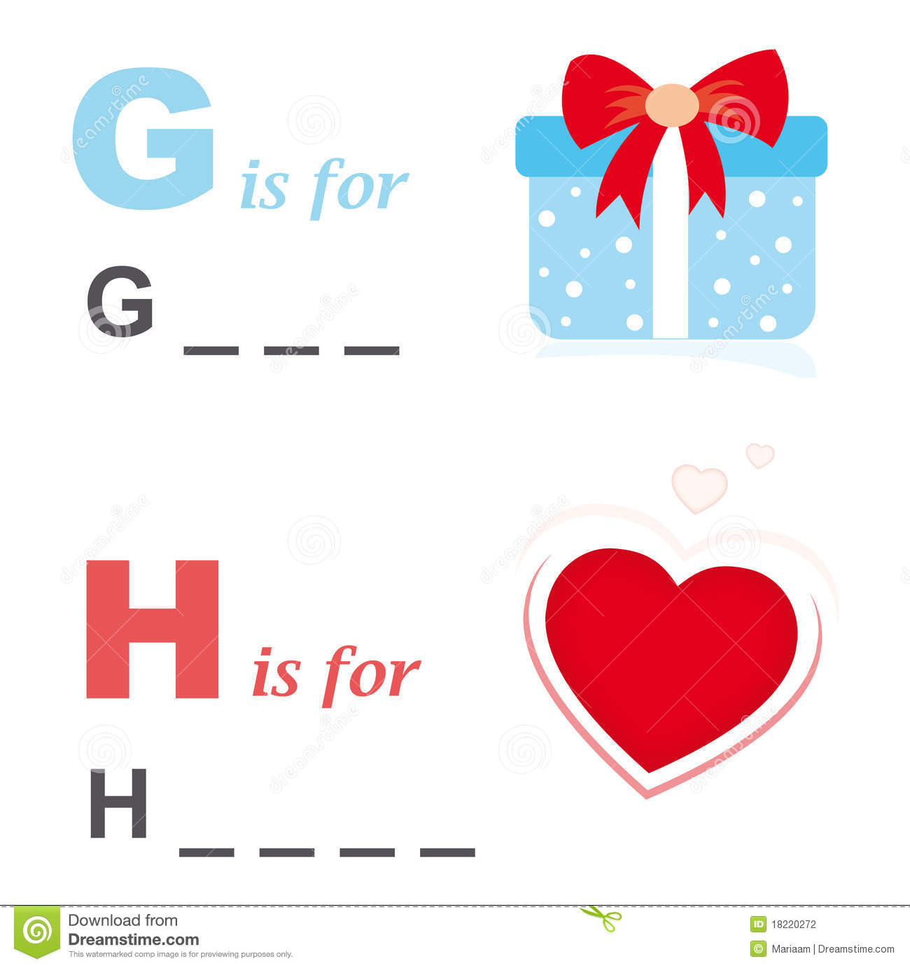 Alphabet word game gift and heart stock vector illustration of download alphabet word game gift and heart stock vector illustration of education funny negle Images